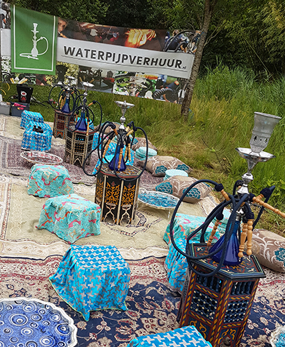 Arabisch entertainment en Pop-Up Tenten te huur