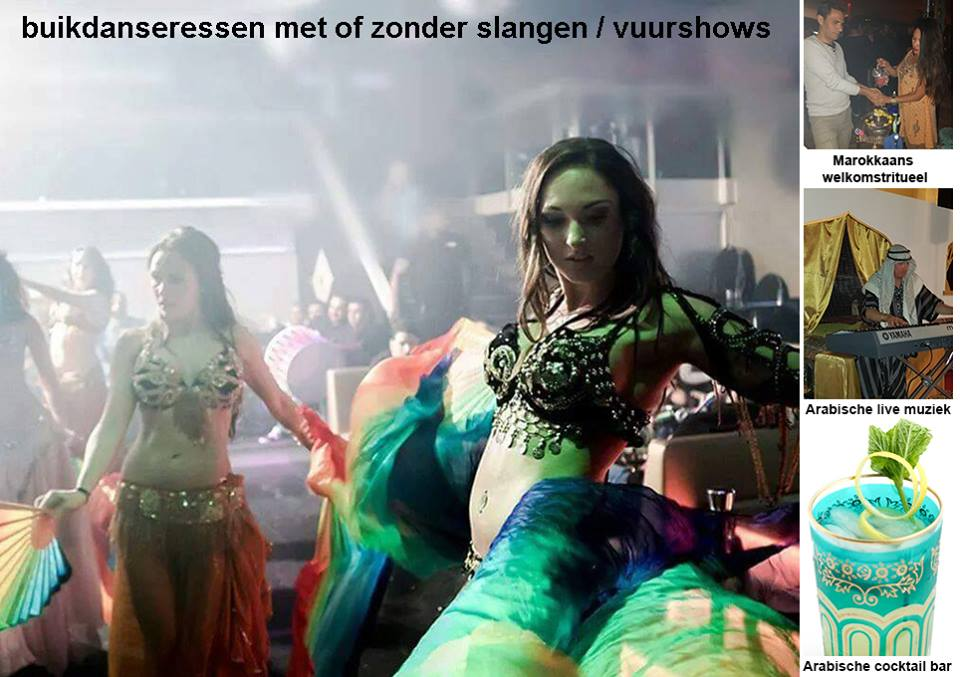 Arabisch entertainment fakirshow